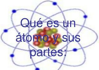 Qué es un átomo y sus partes:
