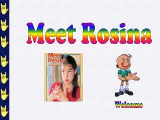 meet rosina vocabulary test