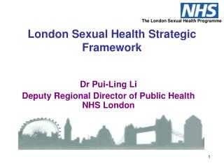 London Sexual Health Strategic Framework