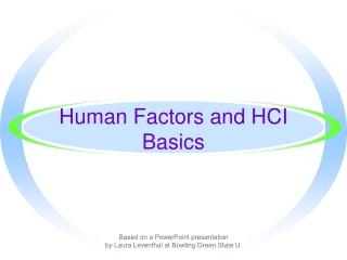 Biomechanics Basics