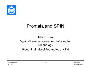 Promela and SPIN