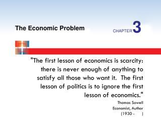 The Economic Problem
