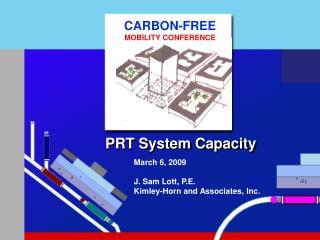 PRT System Capacity