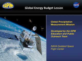 Global Energy Budget Lesson