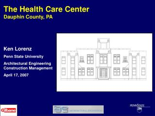 The Health Care Center Dauphin County, PA