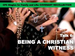 CFC Singles for Family and Life: COVENANT RECOLLECTION