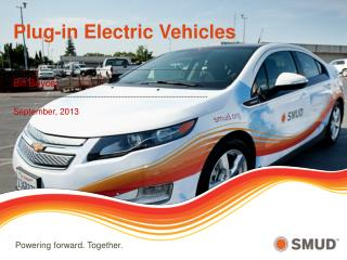 Plug-in Electric Vehicles