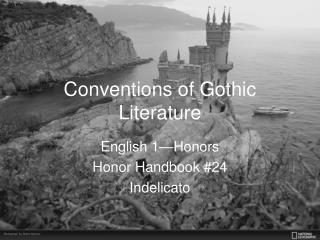 Conventions of Gothic Literature