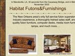 Habitat FutonsFurnishings