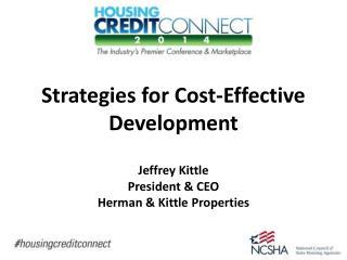 Strategies for Cost-Effective Development