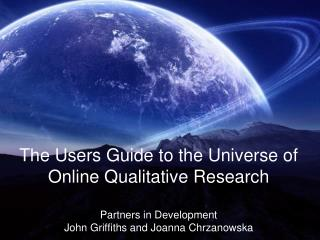 More Guide information  and downloads at  webjam/tour_of_the_online_universe