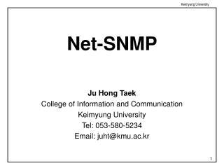 Net-SNMP