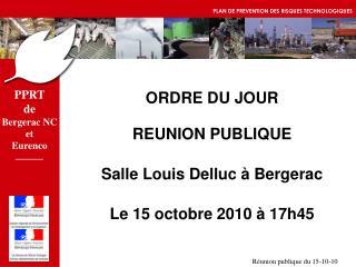 PPRT de Bergerac NC et Eurenco
