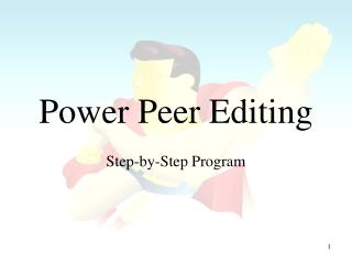 Power Peer Editing