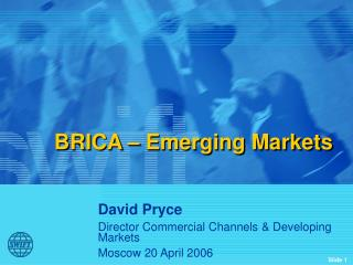BRICA – Emerging Markets
