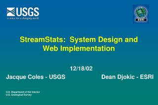 StreamStats:  System Design and Web Implementation