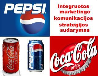 Integruotos marketingo komunika cijos strategijos sudarymas