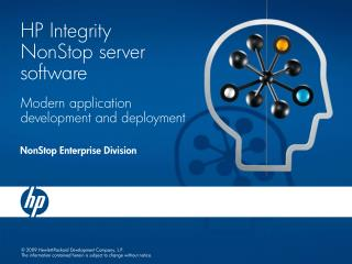 HP Integrity NonStop server software
