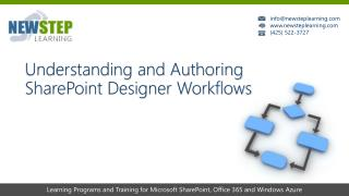Understanding and Authoring SharePoint Designer Workflows