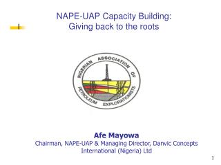 NAPE-UAP Capacity Building:  Giving back to the roots
