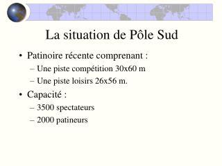 La situation de Pôle Sud