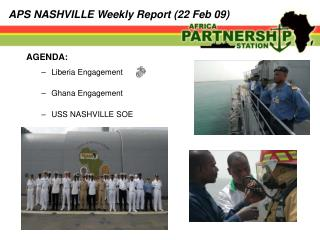 APS NASHVILLE Weekly Report (22 Feb 09)