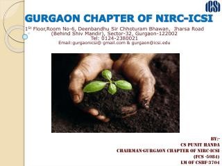 GURGAON CHAPTER OF NIRC-ICSI