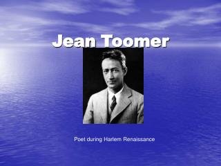an analysis of the poem reapers by jean toomer Reapers by jean toomer black reapers with the sound of steel on stones are sharpening scythes i see them place the hones in their hippockets as a thing thats done and start page.