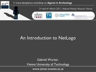 An  Introduction to NetLogo