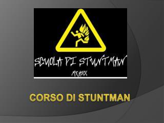 CORSO  DI STUNTMAN