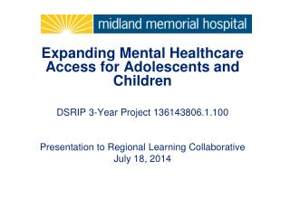 Expanding Mental Healthcare Access for Adolescents and Children