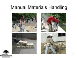 Manual Materials Handling