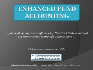 Enhanced Fund Accounting