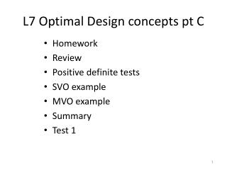 L7 Optimal Design concepts pt C