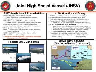 Joint High Speed Vessel (JHSV)