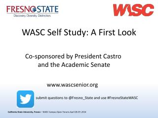 WASC Self Study: A First Look