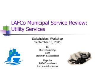 LAFCo Municipal Service Review: Utility Services