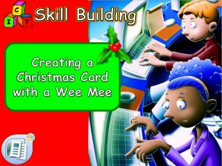 Creating a Christmas Card with a Wee Mee