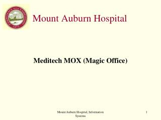 Mount Auburn Hospital