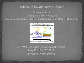 2011  South  Dakota Activity Update