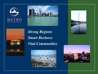 Strong Regions Smart Business Vital Communities