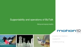 Supportability and operations of BizTalk