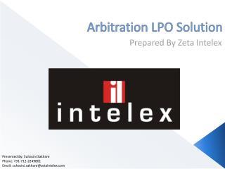 Arbitration LPO Solution