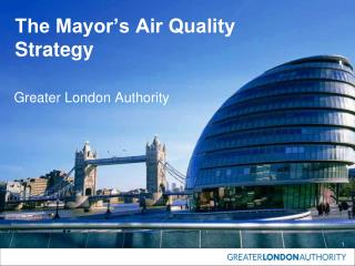 The Mayor's Air Quality Strategy