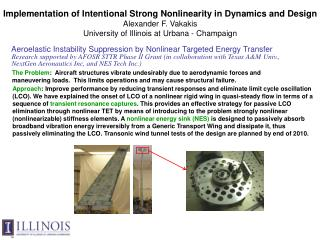 Aeroelastic Instability Suppression by Nonlinear Targeted Energy Transfer