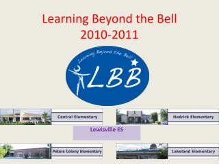Learning Beyond the Bell  2010-2011