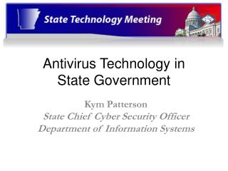Antivirus Technology in  State Government