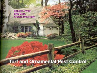 Turf and Ornamental Pest Control