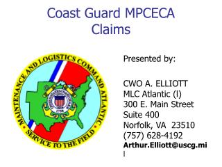 Coast Guard MPCECA Claims