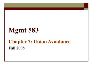 Mgmt 583